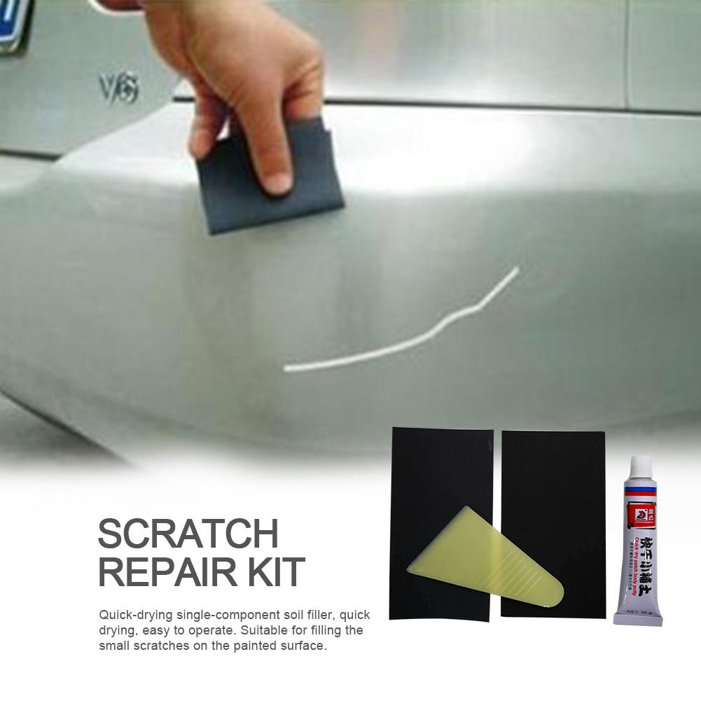 Car Scratch Repair Kit Car Body Putty Scratch Filler Smooth Repair Tool Auto Care