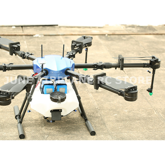 EFT E616S 16L الزراعية طائرة دون طيار للرش E616 616S 16 كجم للطي إطار قاعدة العجلات فرش مضخة مياه رذاذ طائرة من دون طيار تستخدم في الزراعة 5
