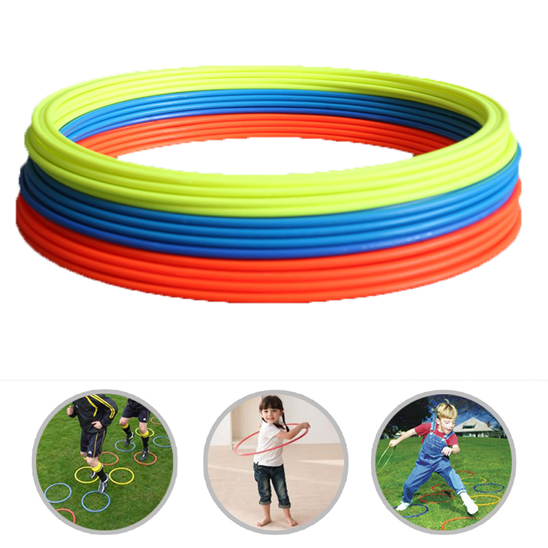 Durable Agility Training Rings Portable 5pcs/set Football Soccer Speed Agility Training Rings Sport Training Equipment