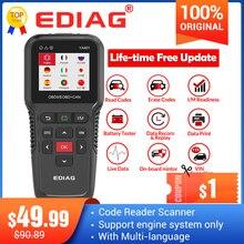 Ediag YA401 obdii code reader Scanner Freies update Volle OBD2 Funktionen batterie überprüfen PK KW850 CR3008 Auto diagnose werkzeug