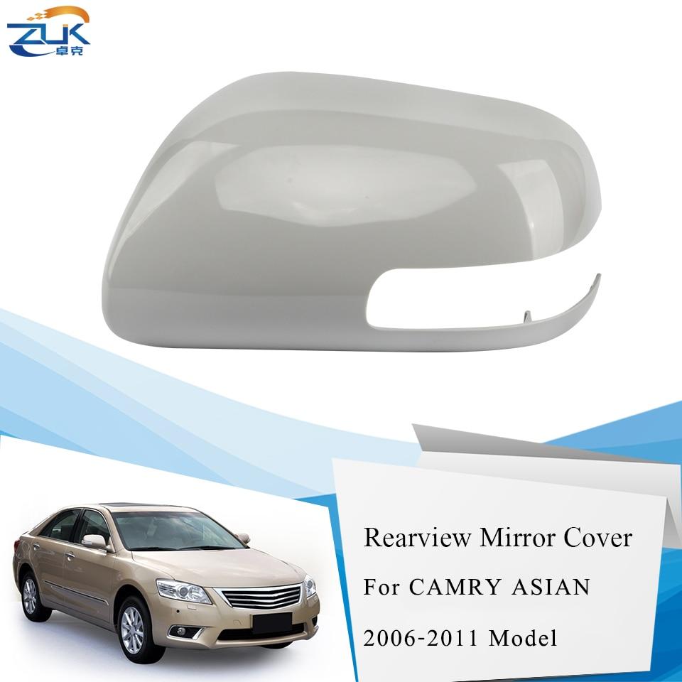 ZUK 外側バックミラーカバートヨタカムリ用 2006 2007 2008 2009 2010 2011 アジアモデル VIOS 2008-2013