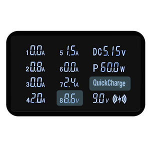 Image 5 - STOD Qi Draadloze Oplader 10W USB Type C PD 18W Snel Opladen Station 60W LED Display voor iphone 11 Pro XR XS MAX X 8 Plus Samsung S9 S8 Pixel 3XL 3 NEXUS 6P Nokia Lumia Icon 950XL Mi USB C Adapter