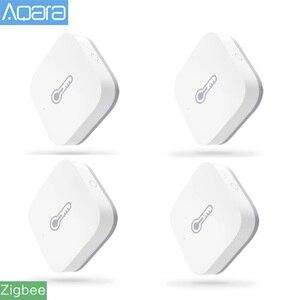 Original Aqara Smart Air Pressure Temperature Humidity Sensor Environment Sensor Work With Android IOS Mijia APP Control(China)