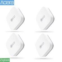 Originale Aqara Smart Pressione Dellaria Sensore di Umidità di Temperatura Ambiente di Lavoro del Sensore Con Android IOS Norma Mijia APP di Controllo