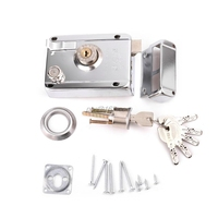 Exterior Door Lock Kit Security Anti-theft Locks With Multiple Insurance