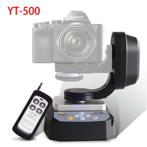 Image 1 - ZIFON YT 500 Motorized Remote Control Pan Tilt with Tripod Mount Adapter for Extreme Camera Wifi Camera and Smartphone