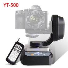 ZIFON YT 500 ממונע שלט רחוק פאן הטיה עם חצובה הר מתאם עבור קיצוני מצלמה Wifi מצלמה Smartphone