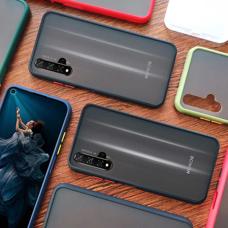 Tahan Guncangan Bumper Armor Case untuk XiaoMi RedMi Note 4 4X6 Pro 8T 8 Pro 8A RedMi Note 7 Pro 7A 9 9S 9A Penuh Lembut Penutup PC