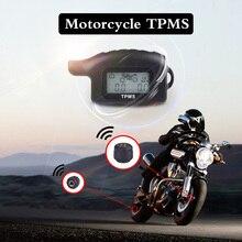 Motorcycle TPMS Tire Pressure Wireless Monitor External Pressure Waterproof Sens