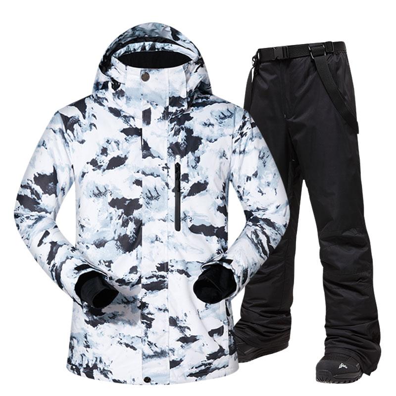 Ski Suit Men Winter…