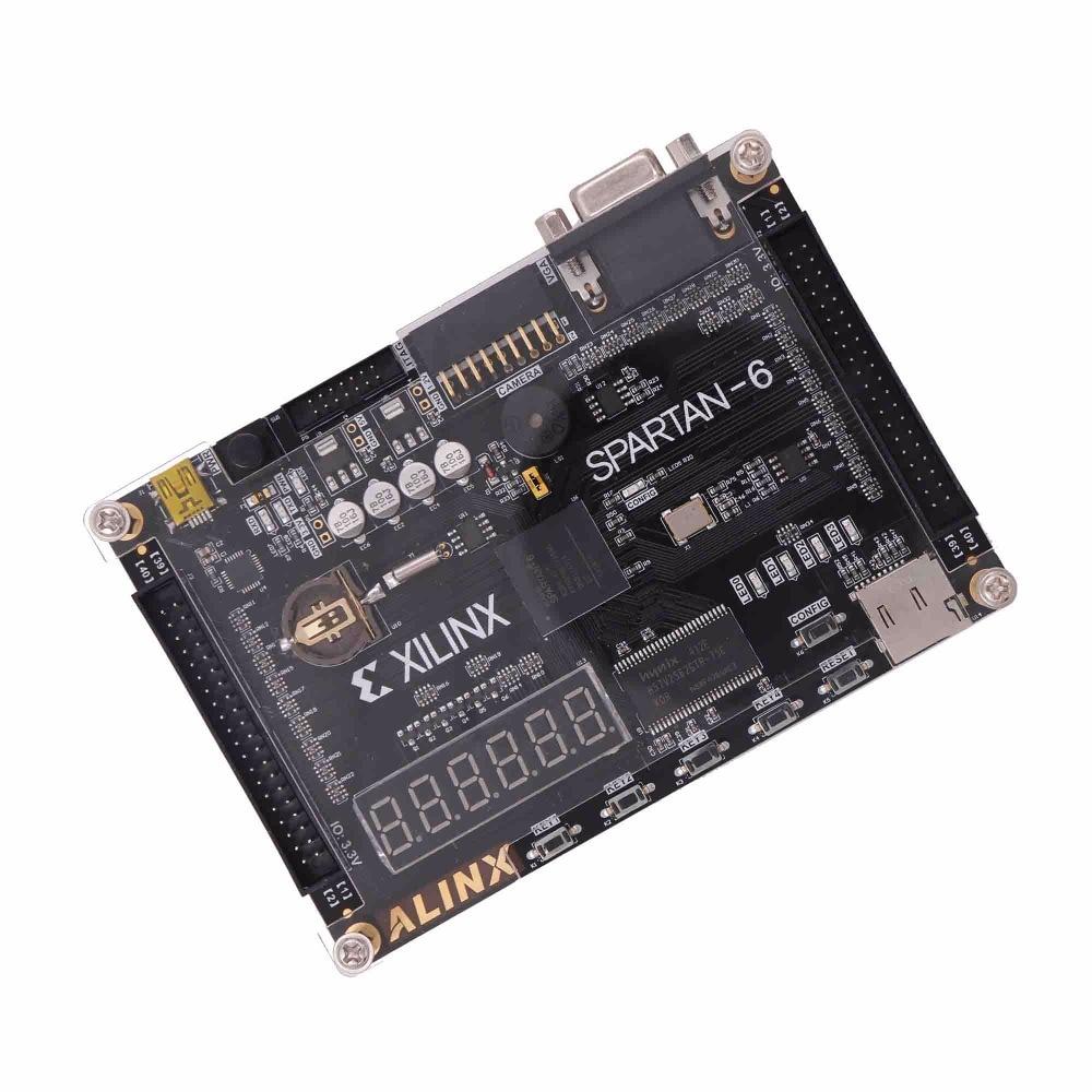 Xilinx Spartan6 Fpga Development Board 256Mb XC6SLX9 SDRAM FLASH SD Card Camera VGA