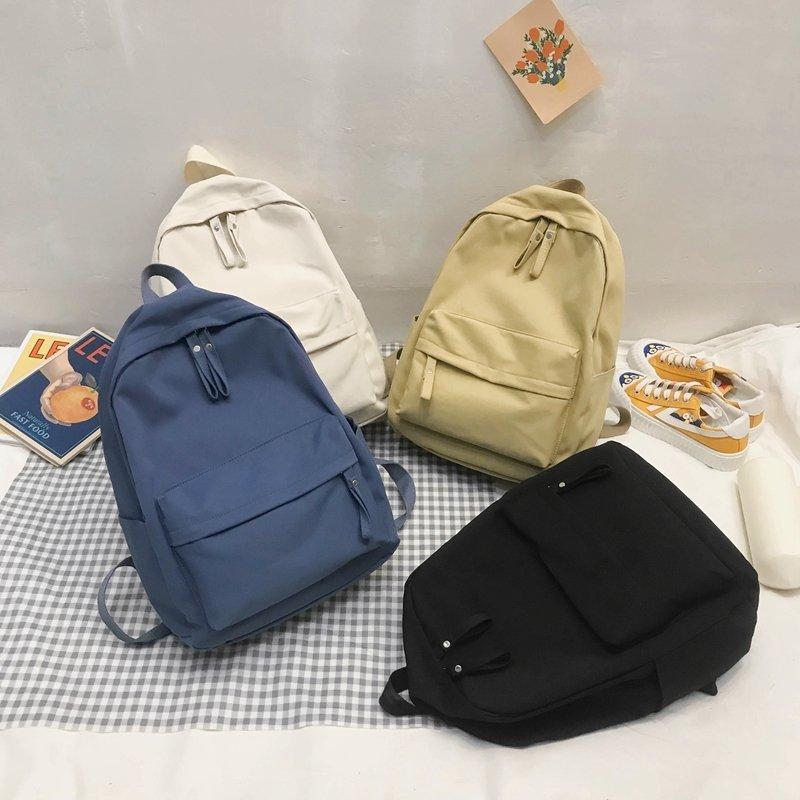 Fashion Women Backpack Cute Casual Backpack New Nylon Shoulder Bags Teenager Girl Student School Bags Mochilas Backpack Female