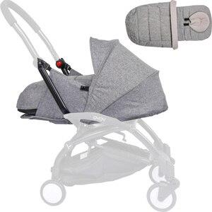 Image 4 - Carrinho de bebê, cesta para dormir 0 6m, recém nascidos, ninho para nascidos, babyzen yoyo yoya, bolsas para dormir de inverno acessórios para carrinhos