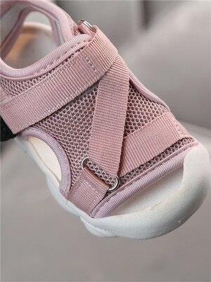 Image 3 - Детские сандалии 2020 летняя новая детская обувь для малышей сетчатая Нескользящая пляжная обувь для мальчиков и девочекСандалии   -