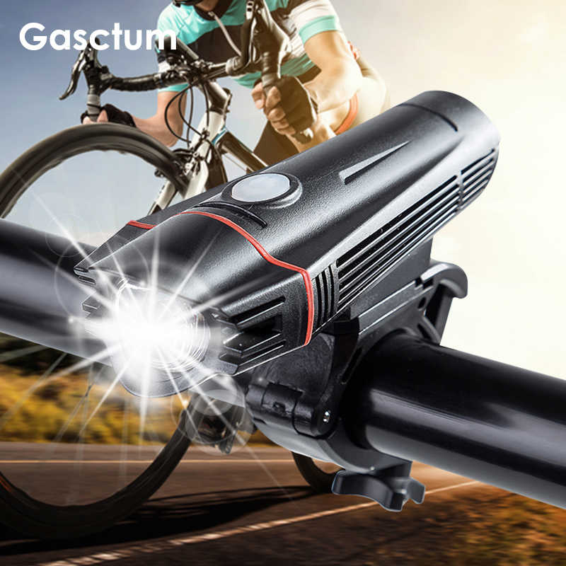 USB Rechargeable Bright LED Bicycle Light MTB Racing Bike Headlight Front Lamp