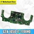 UX550VD материнская плата для ноутбука ASUS UX550VD UX550V UX550VE PROUX550 материнская плата GTX 1050/4GB i7-7700HQ 16GB ram