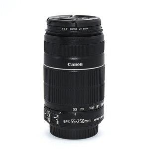 Image 1 - משמש Canon EF S 55 250mm f/4 5.6 הוא II טלה זום עדשה עבור Canon EOS DSLR מצלמות