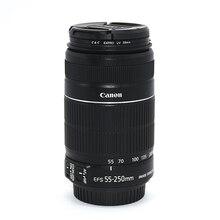 VERWENDET Canon EF S 55 250mm f/4 5,6 ist II Tele Zoom Objektiv für Canon EOS DSLR Kameras