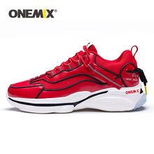 2020 New ONEMIX Couple Sneakers Men Non-Slip Retro Running Shoes Red Women Sport Jogging Shoes Tennis Zapatos Man Running Shoes red old beijing cloth shoes women shoes women sneakers 2019 spring new non slip mother shoes womens shoes woman zapatos de mujer