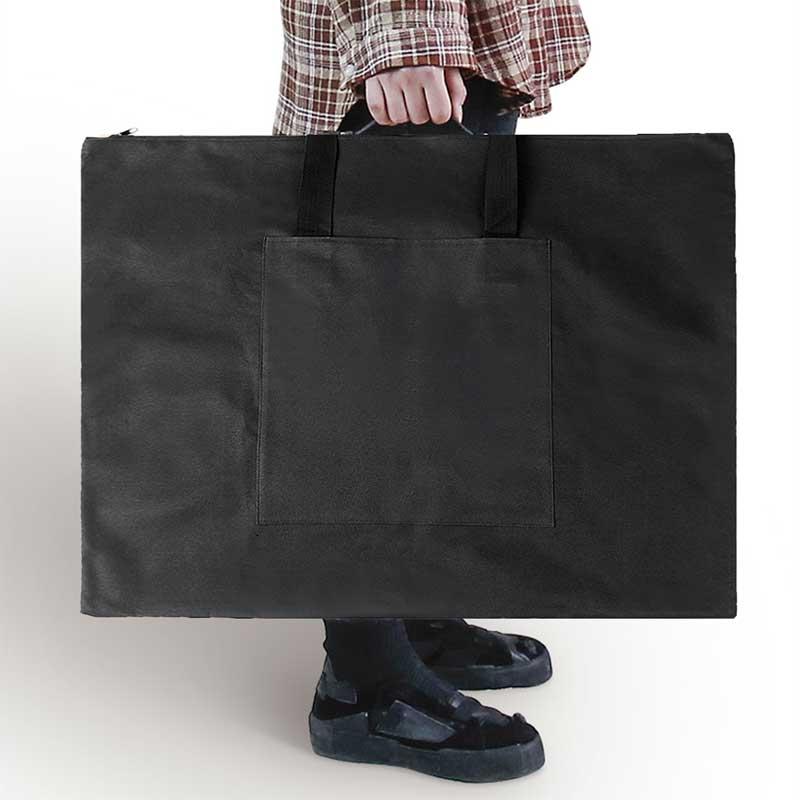Multifunctional Sketch Drawing Board Canvas Bag 4K Waterproof Drawing Bag Thick Art Storage Shoulder Case Painting Carrier Bag