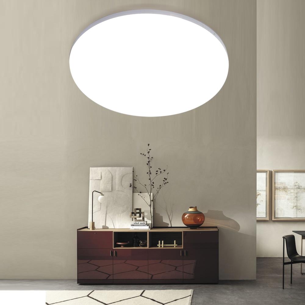 LED Ceiling Lights Lighting 85-265V 48W 36W 24W 18W 13W 9W 6W Lamparas De Techo Colgante Moderna LED Panel Lamp For Home