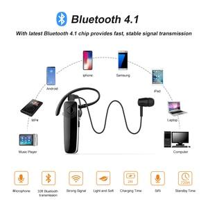 Image 4 - Nouveau abeille Bluetooth écouteur sans fil mains libres casque Mini écouteur casque avec CVC6.0 micro pour iPhone xiaomi Android