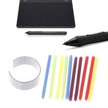 10 шт. Графический блокнот для рисования Стандартный Черный Стилус сменный стилус для Wacom Bamboo Intuos Cintiq блокнот для рисования