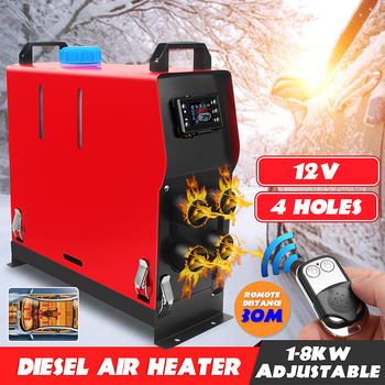 All In One 8000W Air diesels Parking Heater 8KW 12V Car Heater For Trucks Motor-Homes Boats Bus +LCD key Switch +Remote Control
