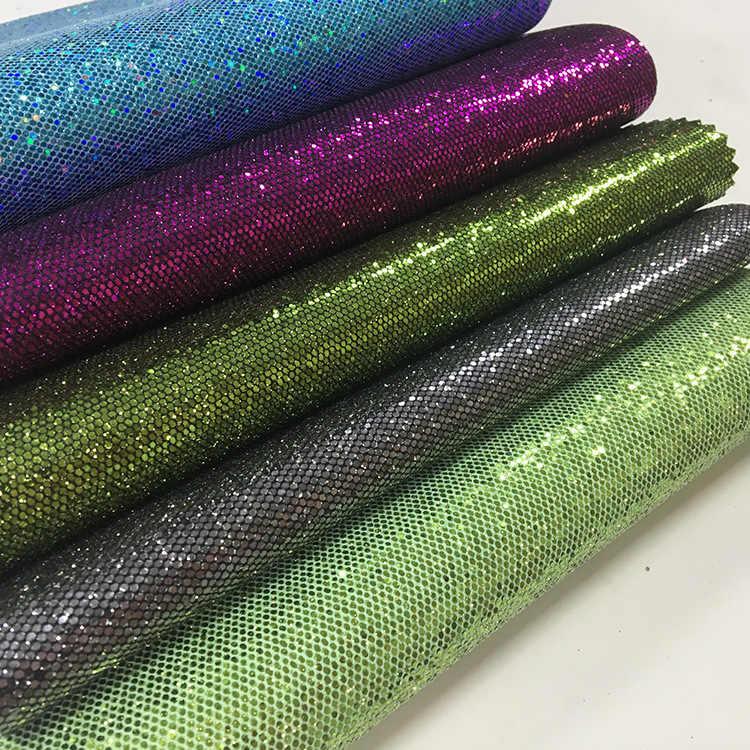 ลิ้นจี่ Life 29x21 ซม.เลื่อม Glitter สังเคราะห์หนังผ้า PU ผ้า DIY Handmade เย็บเสื้อผ้าอุปกรณ์ตกแต่ง