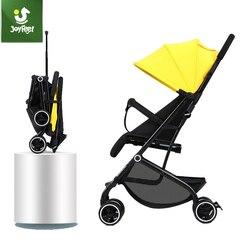 Joyfeel carrinho de bebê ultra leve dobrável simples carrinho de criança pode sentar reclinável alta paisagem carrinho rússia frete grátis