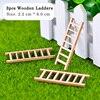 3pcs Wooden Ladders