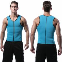 Men Slimming Belt Belly Neoprene Slimming Vest Weight Loss Body Shaper Abdomen Fat Burning Sweat Sauna Shaperwear Drop shipping