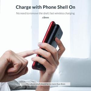 Image 2 - ORICO Batería Externa de 8000mAh para móvil, Banco de energía inalámbrico para iphone X, XS, XR, USB tipo C, carga inalámbrica para teléfono inteligente Samsung