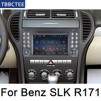 For Mercedes Benz SLK Class R171 2004~2011 Android radio bluetooth GPS Navigation wifi Stereo video Car Multimedia Player WIFI