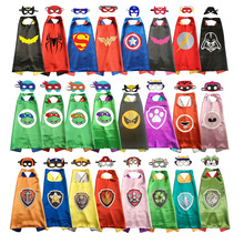 Superhero Capes for Birthday Party Dress Up Anime Cosplay Kids Halloween Costumes