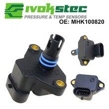 100% ทดสอบแผนที่ Sensor Intake Air Boost Manifold ความดัน Absolute Drucksensor สำหรับ Land Rover MG MINI MHK100820 MHK100820L
