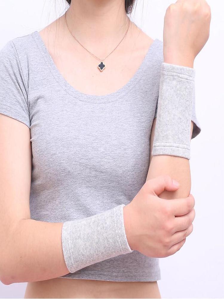 Braces-Protector Wrist-Guard Sweat-Absorbing Basketball Fitness Elastic Sports Unisex