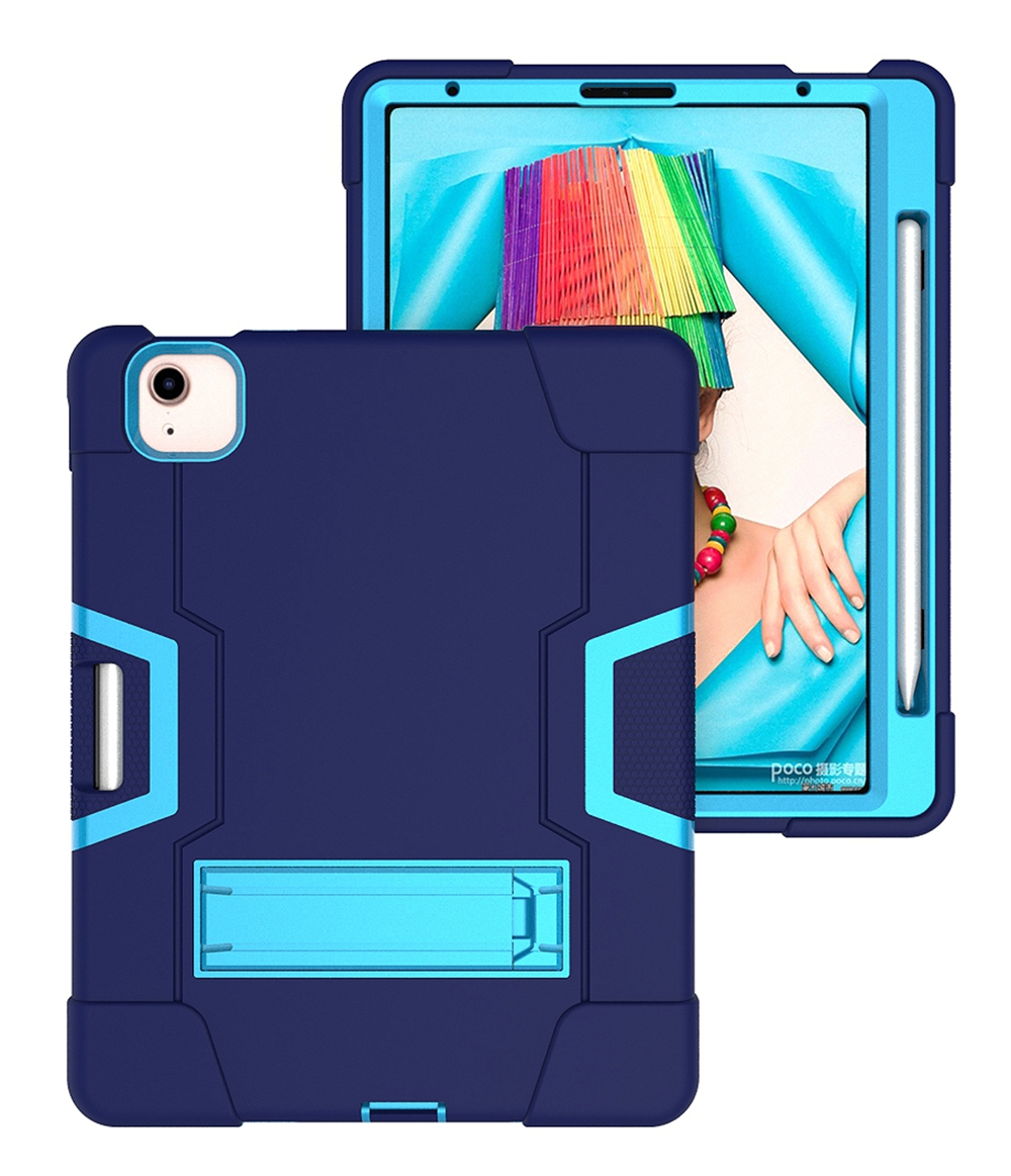 Navy Blue - Blue Black For Apple iPad Air 4 4th Gen 10 9 inch 2020 A2324 A2072 Case Shockproof Kids