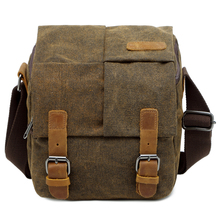 CAREELL C264 Vintage Canvas Photography Shoulder Bag Sling SLR Camera Carrying Case Small Travel Bags for Nikon Sony Canon