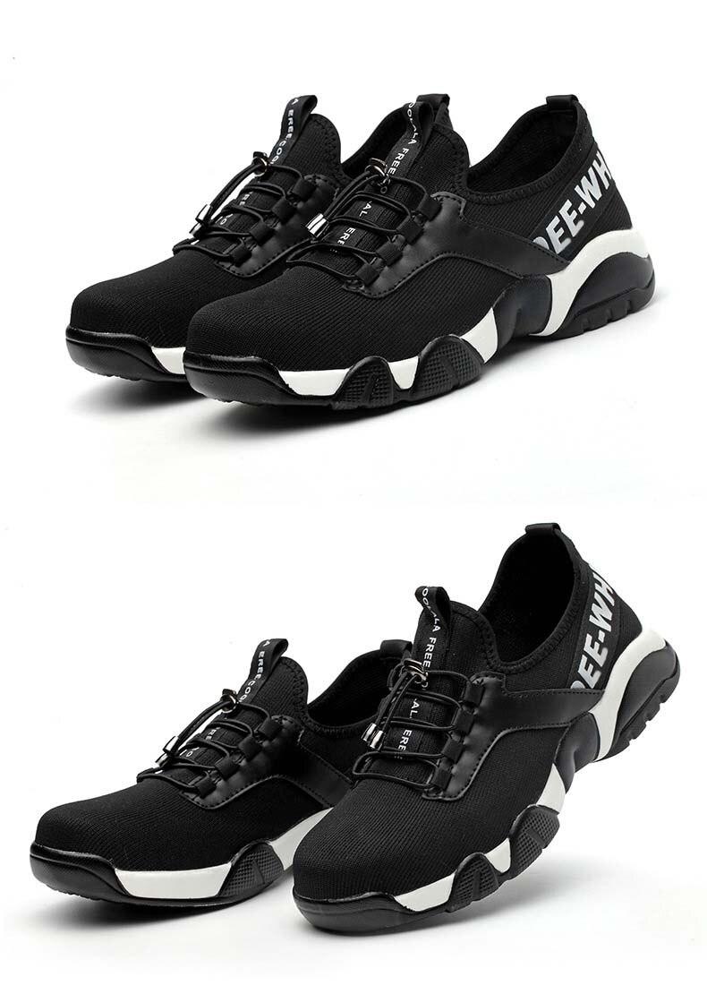 grade leve respirável reflexivo casual sneaker evitar