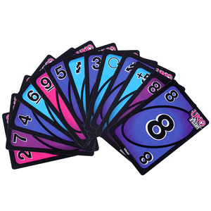 112 Cards UN FLIP Puzzle Games Family Funny Entertainment Board Game Fun Poker Playing Cards Gift