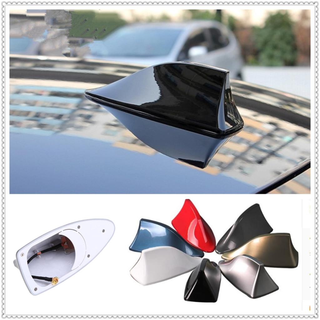 Universal Car Vehicle Black Shark Shape Antenna Dummy Decoration Aerial YZ