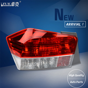 ZUK 2PCS High Quality Replacement Left Right Tail Light Tail Lamp Rear Brake Lamp For HONDA ACCORD CITY 2009 2010 2011 GM2 GM3