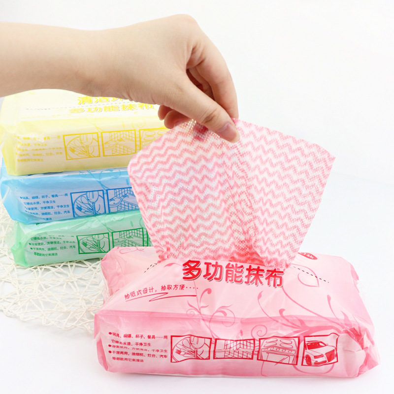 70 шт./пакет нетканое полотно Кухня одноразовая Чистящая салфетка многоцелевой Съемный салфетка для мытья посуды|Чистящие салфетки|   | АлиЭкспресс