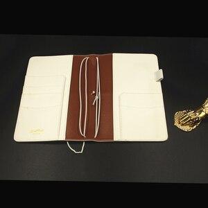 Image 2 - Cuaderno de viajero Lovedoki 2019 tamaño estándar estampado en caliente cubierta Personal planificador diario regalo papelería tienda útiles escolares