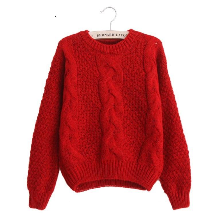 Neue 2019 mode warme winter pullover frauen pullover frauen vintage - Damenbekleidung - Foto 2