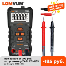 Digital Multimeter Flashlight NCV True Rms COUNTS LOMVUM Auto-Ranging AC/DC High-Precision