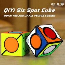 QiYi шеститочечный скоростной магический куб, профессиональные Кубики-головоломки, развивающие игрушки для детей, подарок, Cubo Magico