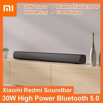 Xiaomi Redmi Mi TV Soundbar 30W bluetooth 5.0 Speaker Wall Mount Home Theater System Support bluetooth 5.0 SPDIF AUX Xiaomi Mi 1