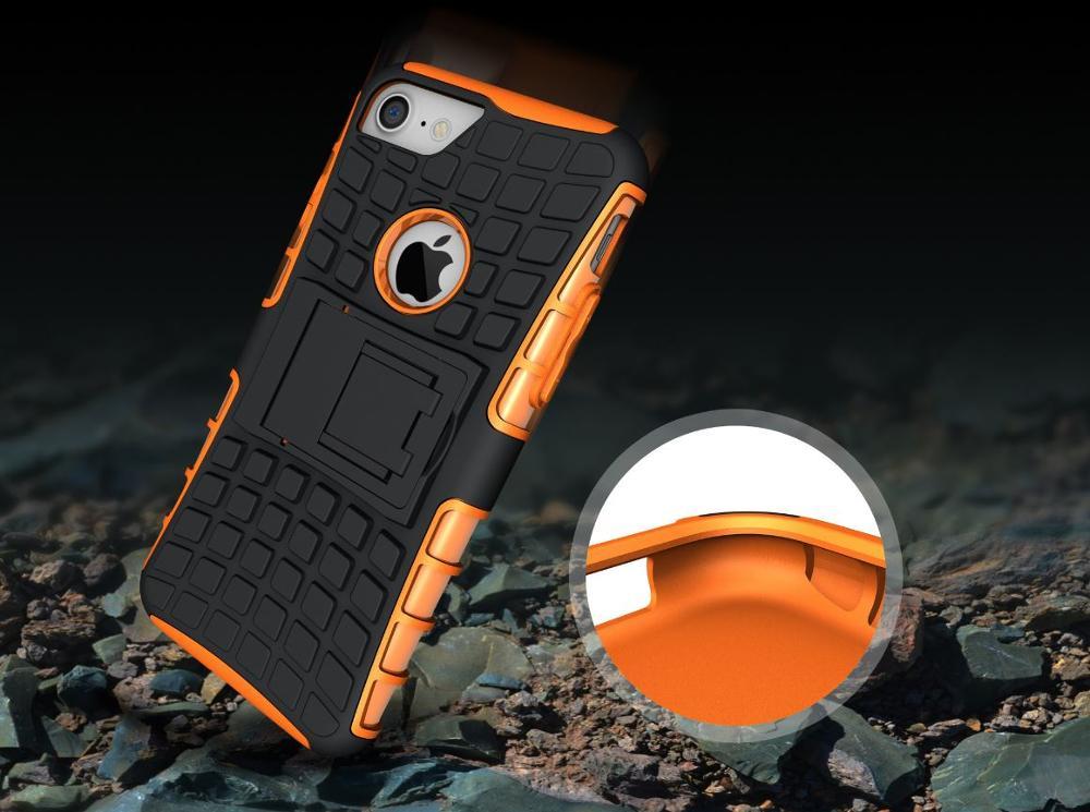 30 pcs 아이폰 케이스 2 1 타이어 패턴 브래킷 보호 케이스 아이폰 8/8 플러스-에서파티 취향부터 홈 & 가든 의  그룹 2